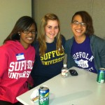 Students from Suffolk University
