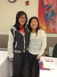 Mandy Cheng and Christine Chu