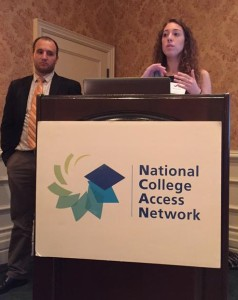 Margy and Justin, NCAN September 2015